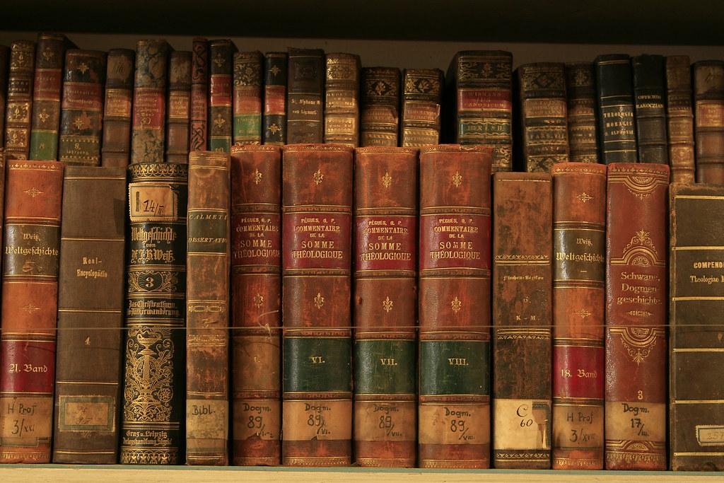 3d Bookshelf Wallpaper Books From Strahov Library Prague Klaus Brandstaetter