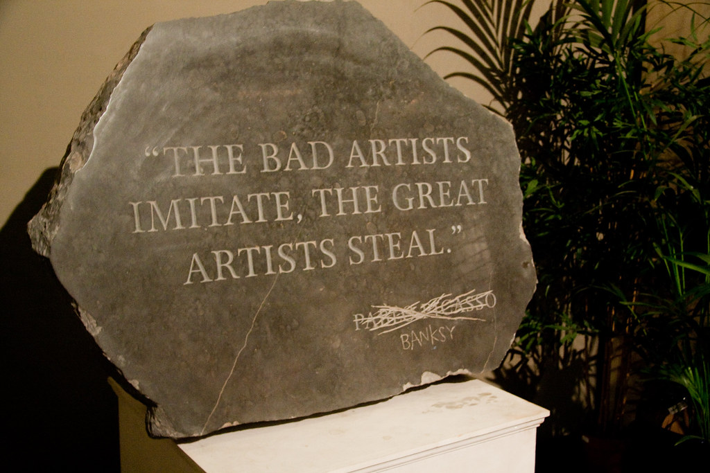Bad Company 3 The Bad Artists Imitate, The Great Artists Steal