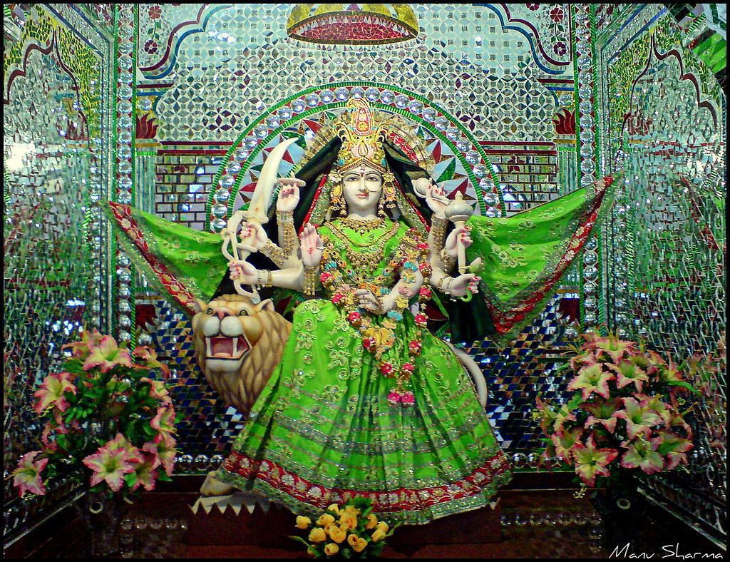 Durga Puja 3d Wallpaper Happy Navratri Navratri Nine Nights Is One Of The