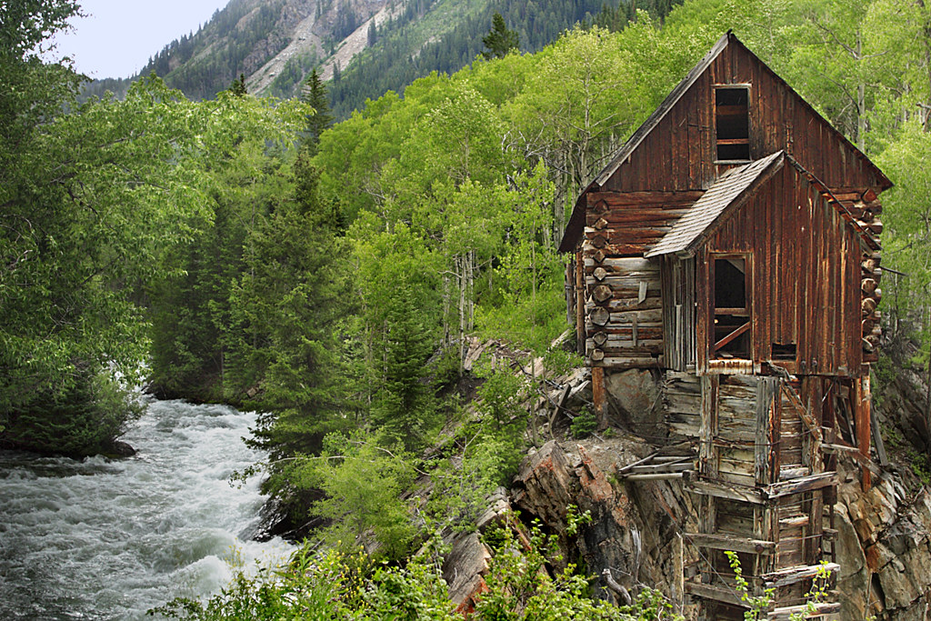 Fall With Water Wallpaper Crystal Mill Colorado Crystal Mill Is Also Known As