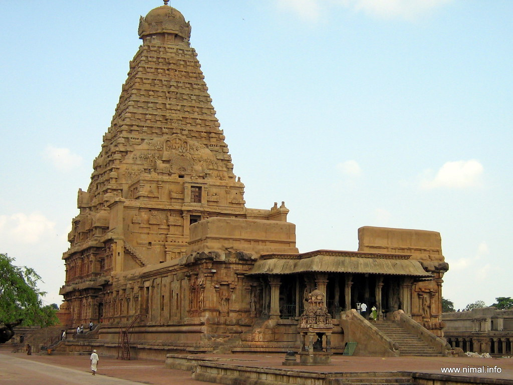 Thanjavur Big Temple Hd Wallpaper Thanjavur Architecture The City