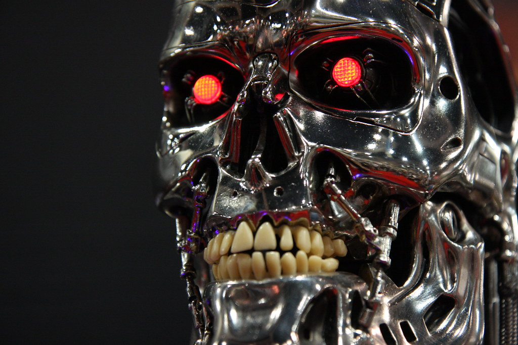 San Diego Wallpaper Hd Face Of The Machine A Portrait Of One Of The Terminator