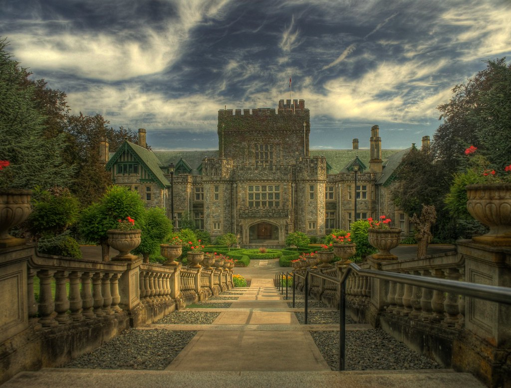 1080p Hd Wallpapers 3d Hatley Castle Hdr Large On Black Press F11 For Full