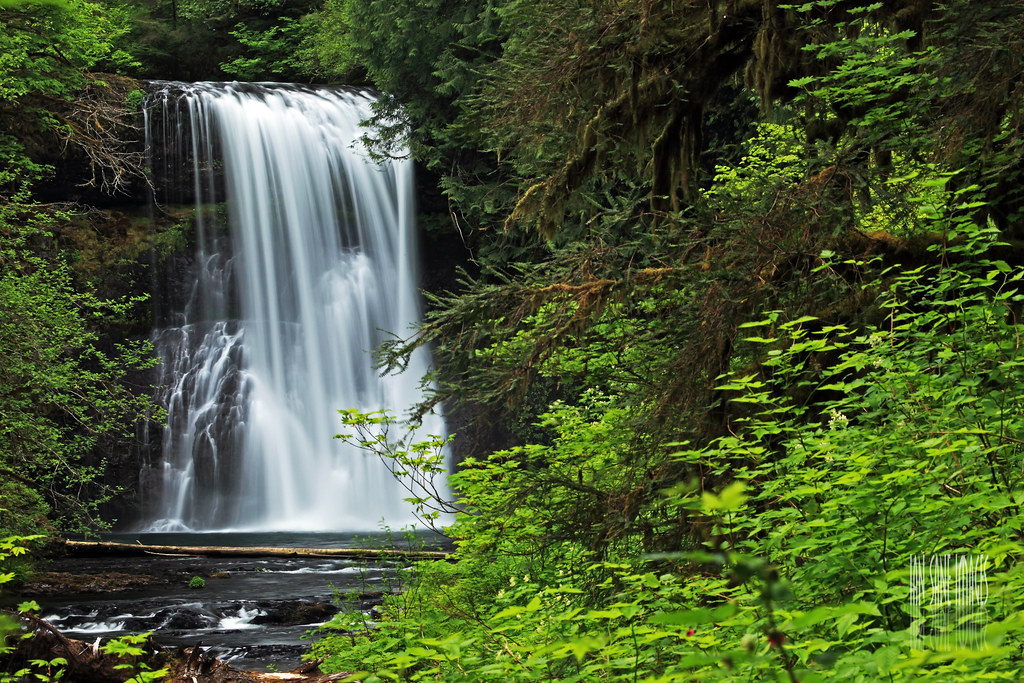 Desktop Wallpaper Fall Images Upper North Falls Height 65 Ft Silver Falls State Park