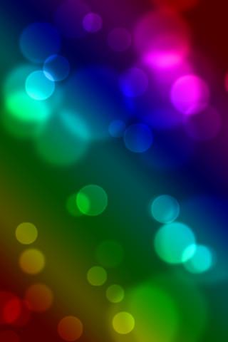 Palm-Pre-Bokeh-Wallpaper---Rainbow   Todd Spargo   Flickr