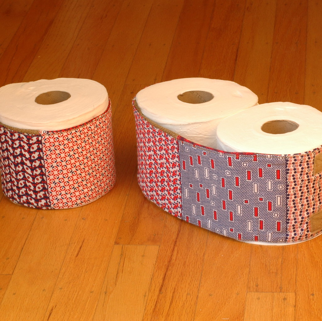 Covered Toilet Paper Storage Toilet Paper Cozy A Toilet Paper Roll Holder And Cover Flickr