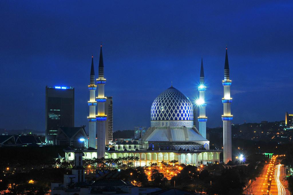 3d Wallpaper Fire Masjid Sultan Salahudin Abdul Aziz Shah Shah Alam Flickr