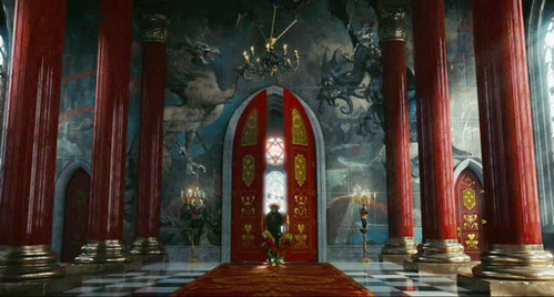 As Royal Decor 3d Wallpaper The Mad Hatter Enters The Red Queens Throne Room Queen Of