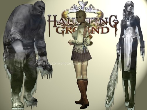 Video Games 3d Wallpaper Haunting Ground Haunting Ground Game Wallpaper