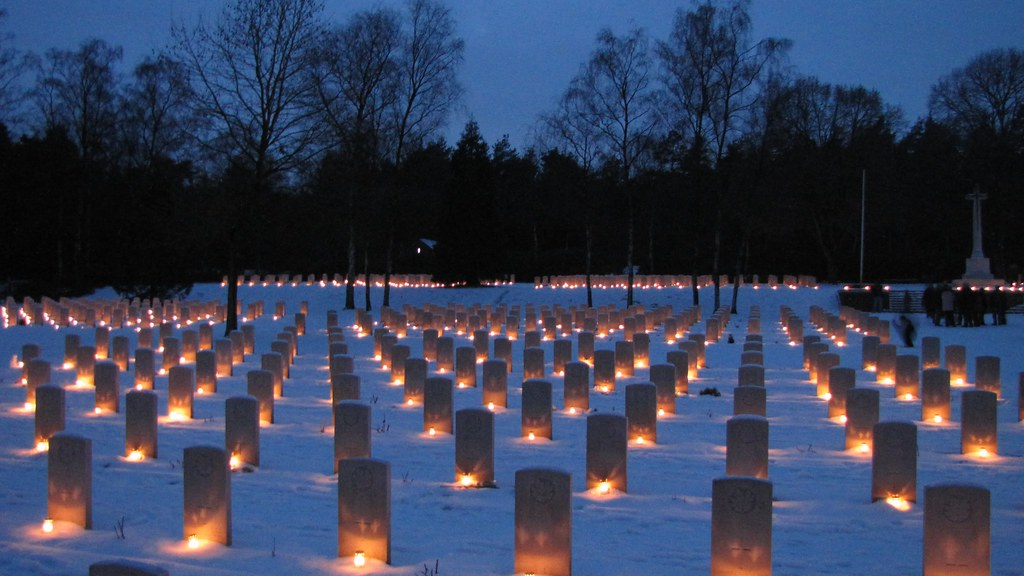 Some 3d Wallpapers Christmas Eve 2009 Holten Canadian War Cemetery