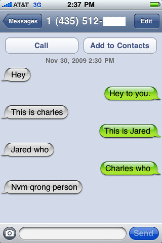 Gf Bf Wallpaper With Quotes Funny Text Message Conversation Some Random Person