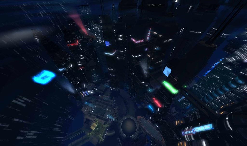 Gamer Girl Spaceship Wallpaper Cyberpunk City Insilico South Cyber Cybernetic Scifi Sci