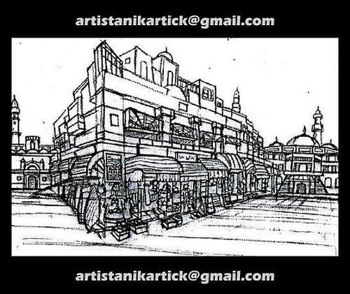 PENCIL Sketch work - Background sketch -02- Artist ANIKART\u2026 Flickr - background sketches