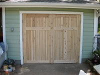 True Carriage Style Door | Custom Cedar True Carriage ...