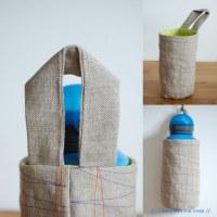 water bottle holder | tutorial | // Between the Lines ...