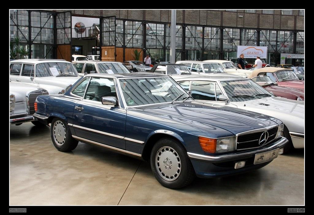 3d War Wallpaper 1985 Mercedes Benz R107 300 Sl 01 Der Mercedes R107
