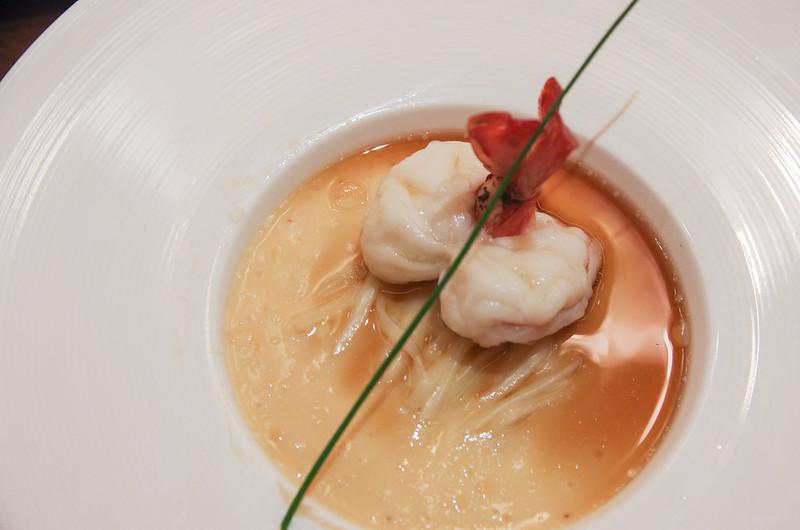 prawn with udon - hai tien lo