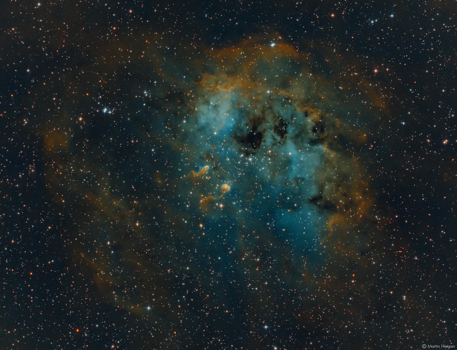 Orion Nebula Hd Wallpaper Martin Heigan Flickr