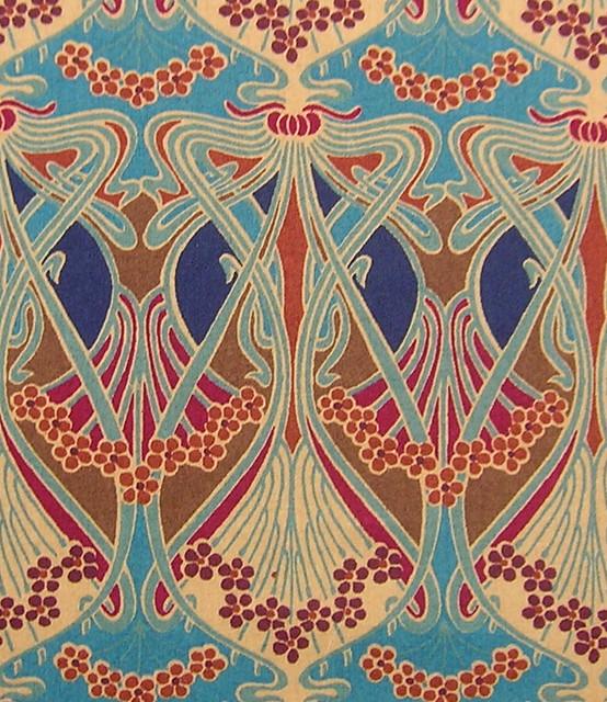 Deco Wallpaper 3d Liberty Of London Fabric Ianthe Leslie Flickr