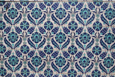 3d Tile Wallpaper Patterned Tiles Istanbul Turkey June 2009 Mksfly