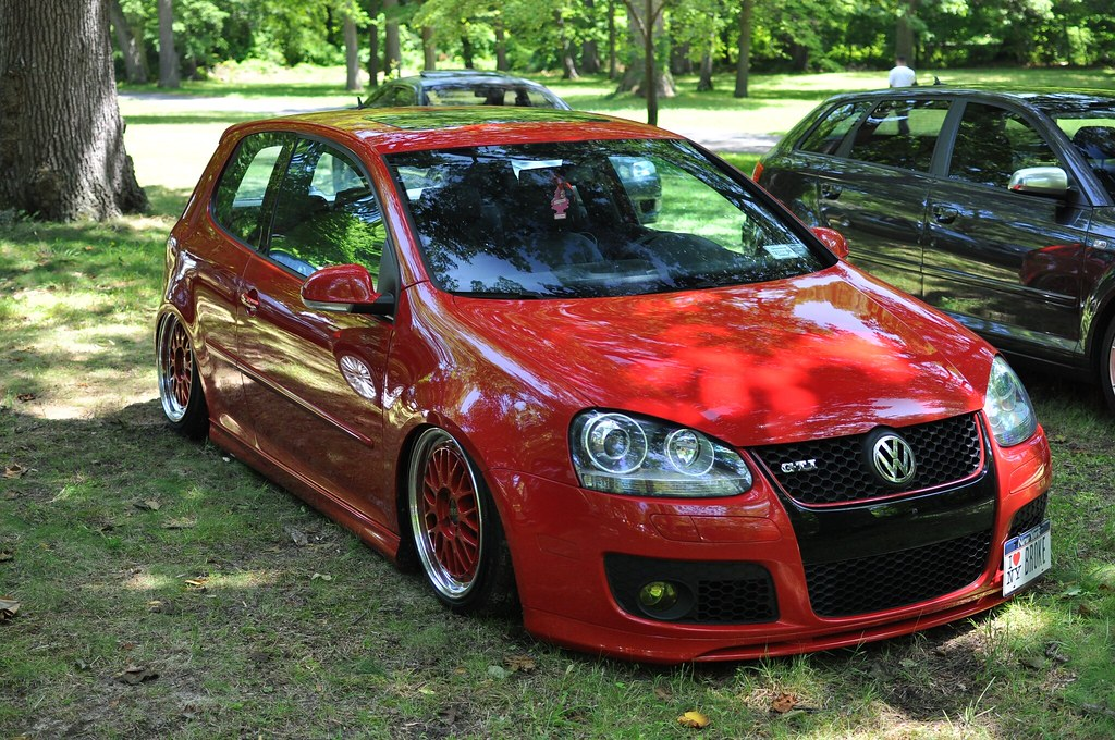 Hd Wallpaper Of World Tornado Red Mkv Gti On Airbags Votex Kitted Tornado Red