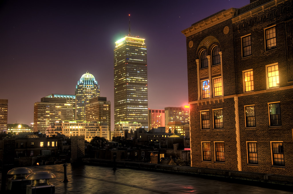 Time Wallpaper Hd The Prudential Center At Night It S Time For A New