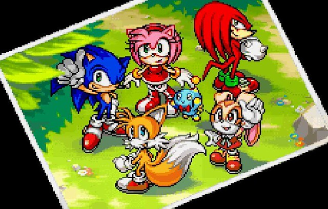 Cute Baby Flying Kiss Wallpaper Sonic Tails Amy Knuckles Cream And Cheese This Pic