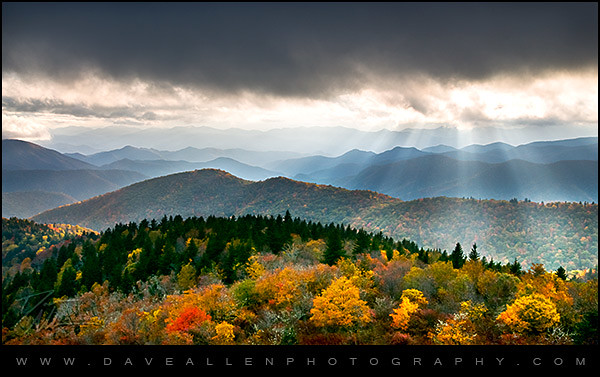 Fall Foliage Desktop Wallpaper Autumn Radiance Blue Ridge Parkway Foliage Evening Sun