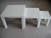 Ikea Nesting Tables Set Of 3 Choice Image - Bar Height ...