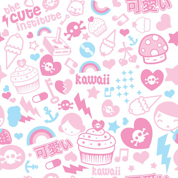 R Letter 3d Wallpaper Kawaii Pattern Kawaii Pattern I Made And Use As