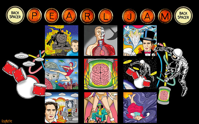 Hd Photos 3d Wallpaper Pearl Jam Backspacer Wallpaper Ver 1 Backspacer Album
