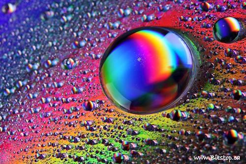 Drops Rainbow 3d Wallpaper Rainbow Water Drops Karen Chappell Flickr