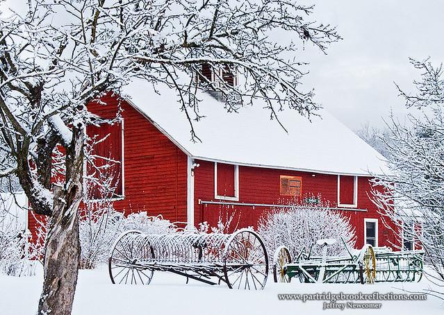 Fall Schoolhouse Wallpaper Winter Red Stonewall Farm Keene Nh Jeffrey Newcomer