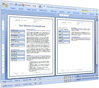 Fact Sheet Template For Technical Writers These MS Word te\u2026 Flickr - fact sheet template word