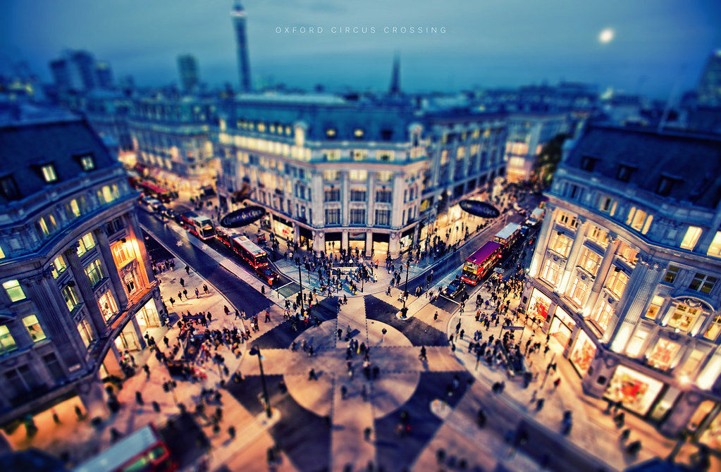 Free 3d Scenic Wallpaper Oxford Circus Crossing 338 365 Post Process Fridays