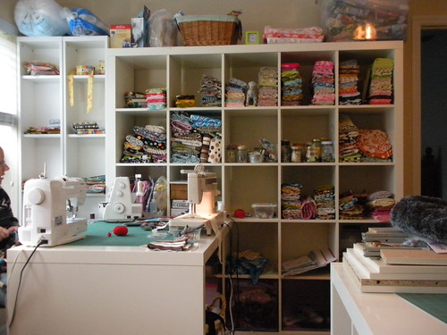 Sewing Room After Trip To Ikea Look At The Wall Shelf