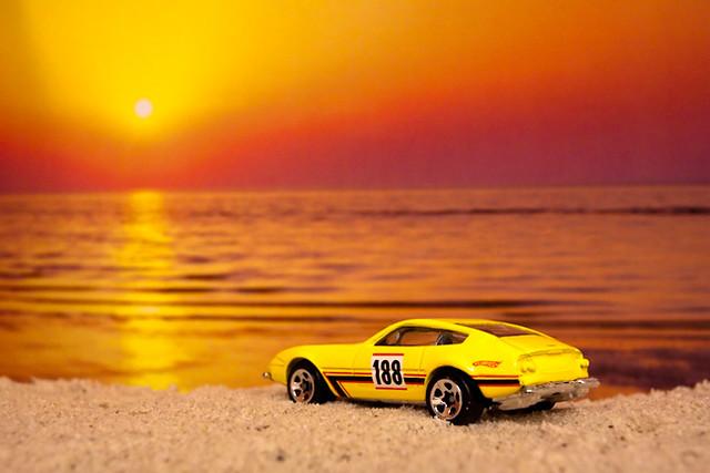 3d Car Wallpaper For Laptop Model Car Sunset Model Car Shot Against A Sunset Photo