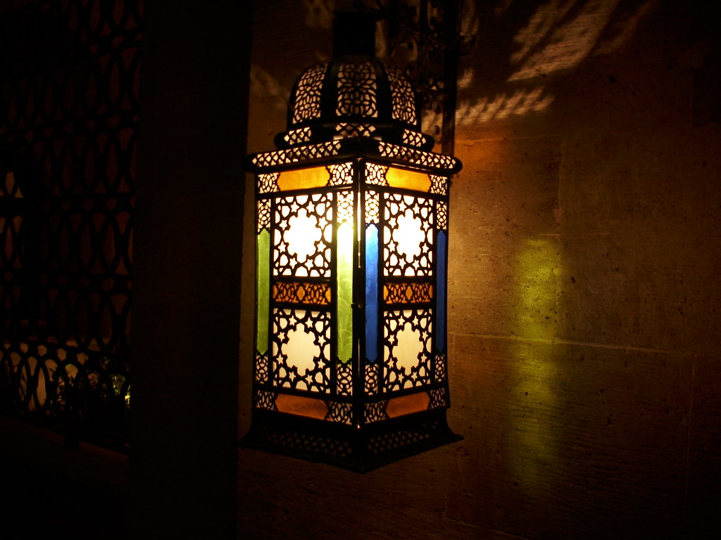 3d Garden Wallpaper Free Islamic Art Work On A Lamp Azhar Park Cairo Egypt زخا