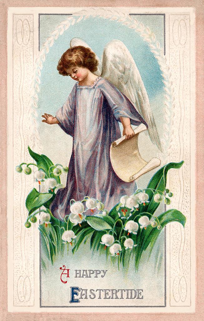 Wallpaper Jesus Christ 3d Vintage Easter Greeting Card Illustration A Vintage