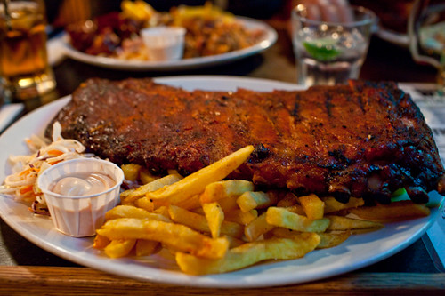 Bodeans Full Rack Of Spare Ribs Photography By Mark