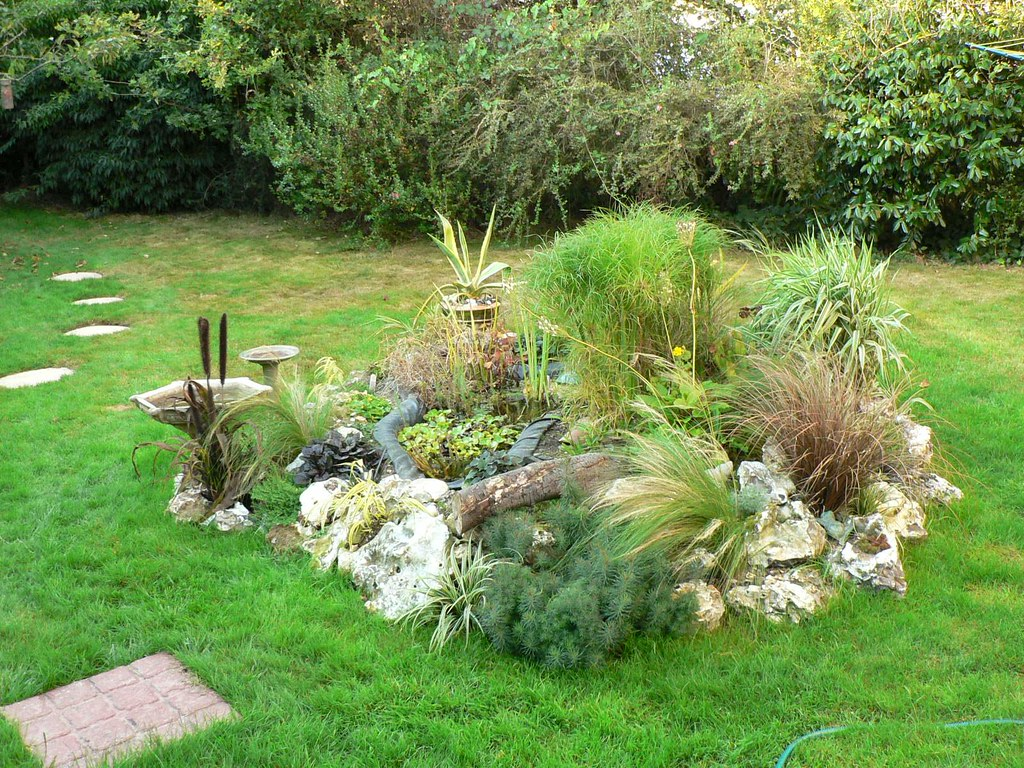 Beetgestaltung Terrasse Thoughts Of Summer And How To Build A Cheap Pond Bog Gard