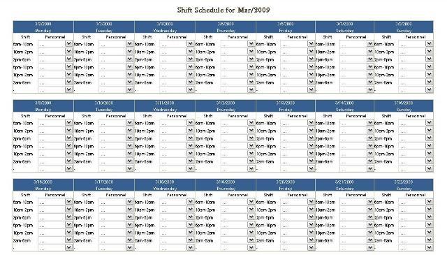 schedule c template