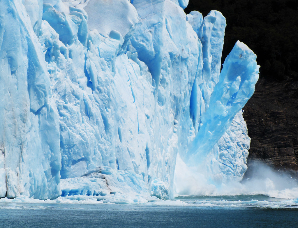3d Wallpaper Caida De Hielo Glaciar Perito Moreno Parque Nacional