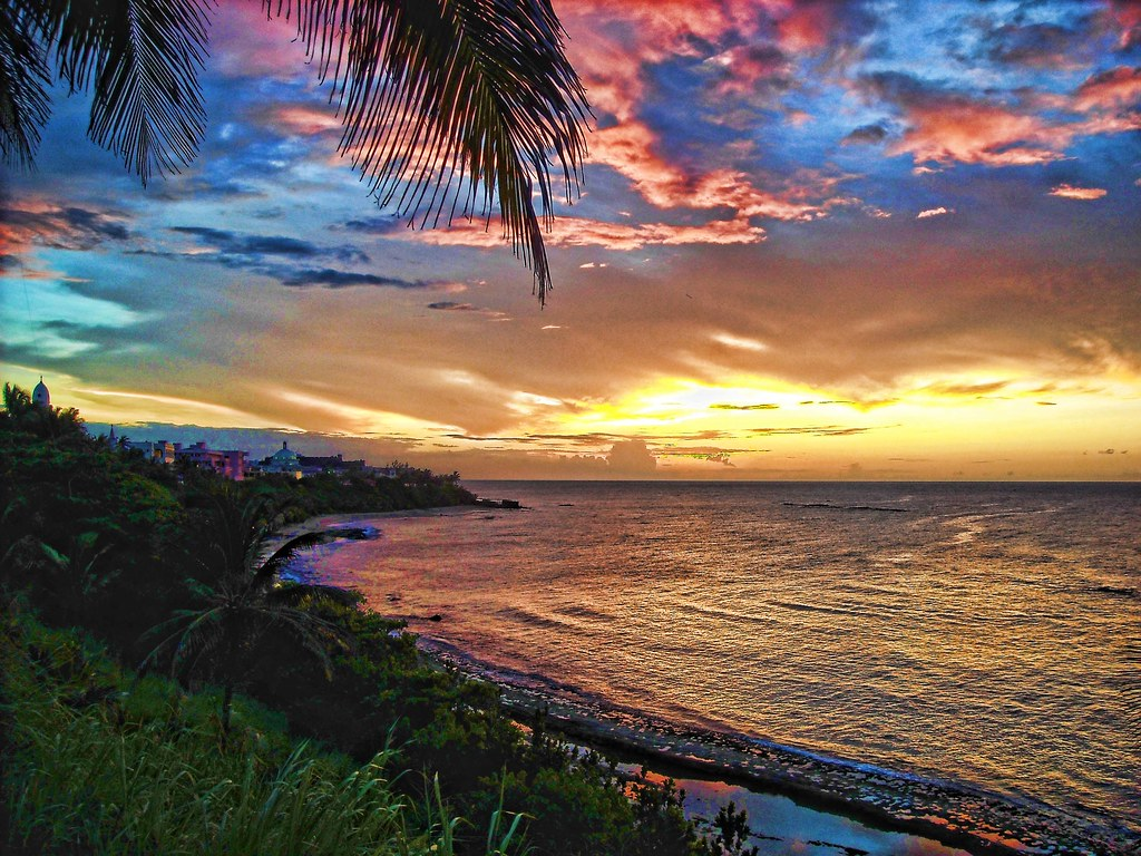 Puerto Rico Flag Wallpaper Hd Old San Juan Sunset Revisited Explore Processed Image