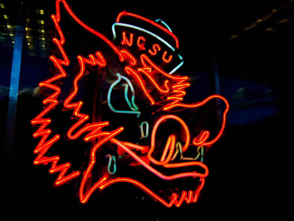 Neon Wallpaper 3d Ncsu Neon Wolf Paul Joseph Flickr