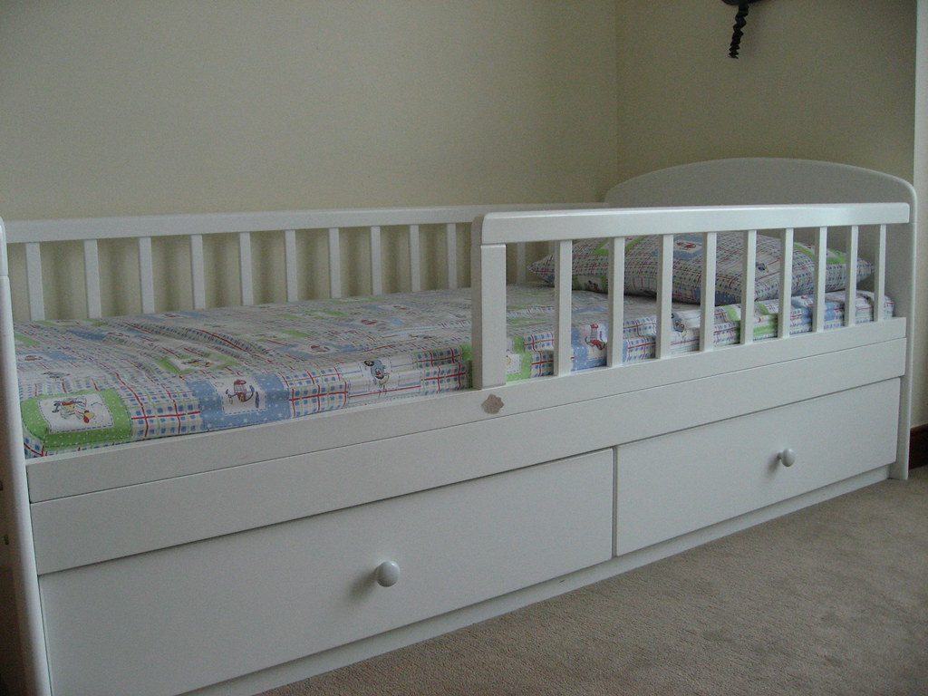 Kitso Toddler Bed With Drawers Sold Large Toddler Bed