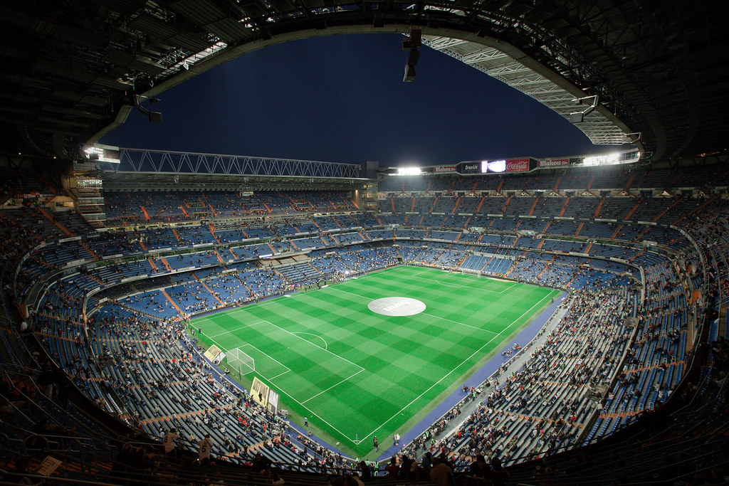 Real Madrid Wallpaper 3d Estadio Santiago Bernabeu Madrid Apr 10 2010 The