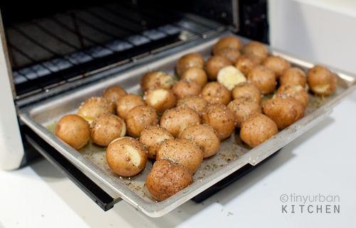 Oven Roasted Potatoes Tiny Urban Kitchen Flickr