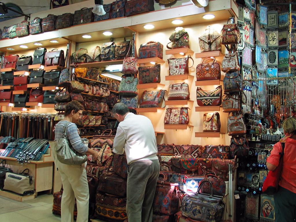 Tribal 3d Wallpaper Istanbul October 2008 Grand Bazaar Leather Goods