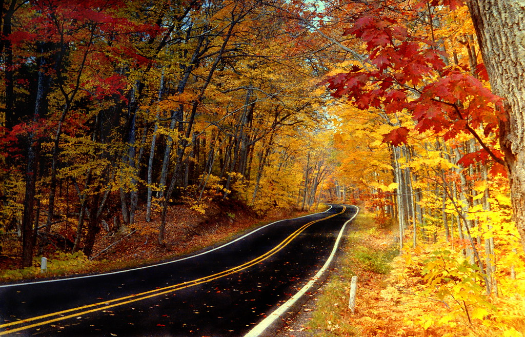 Old Time Car Wallpaper Autumn Copper Harbor 169 Brian Callahan 2010 All Rights